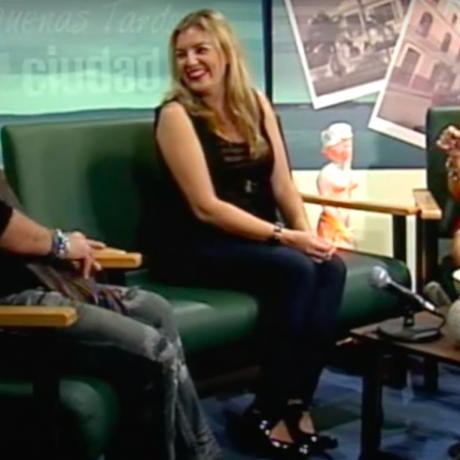 Entrevista Paz de Alarcón en Televisión de Cuba. Programa Buenas Tardes Ciudad